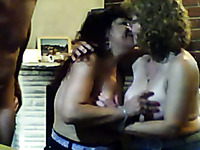 Two Mature Swingers Couples Play On Webcam With Each Other