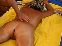 Oiled Up Amateur Milf Wife Rides Me After Nice Sensual Massage