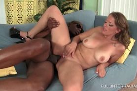 White Doll Enjoying Black Cock Deep In
